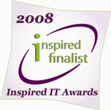 Inspired IT Awards 2008 finalist